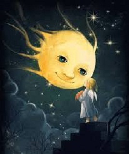 enfant lune